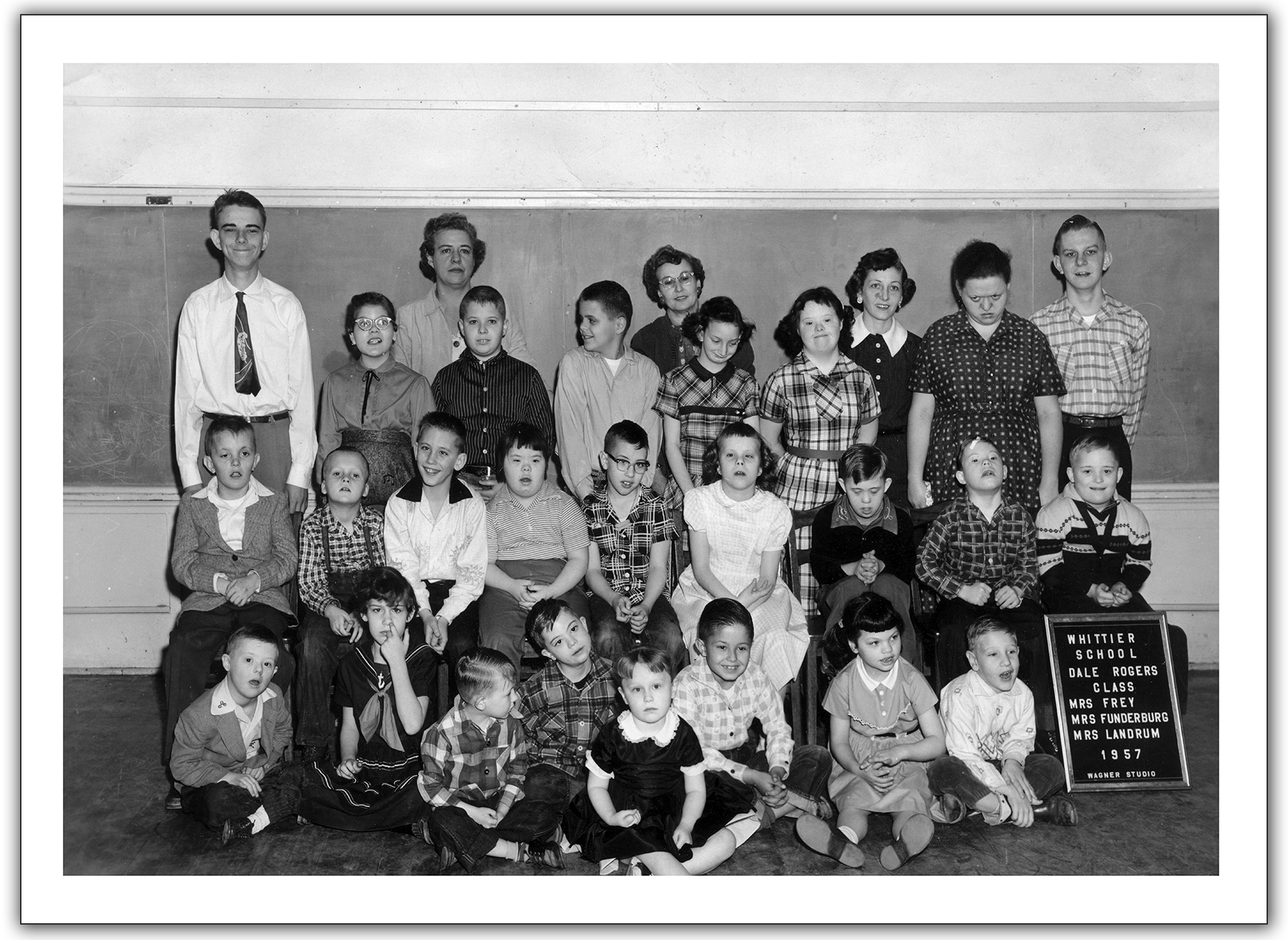 Oklahoma County Council for Mentally Retarded Children in 1953