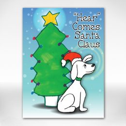 Santa Dog card