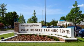 Dale Rogers Training Center entrance