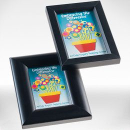 Wyman photo frames - black